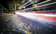 Project 365; #326 (iMalik1) Tags: longexposure lightrail traffic motionblur light goinghome canoneosm3 lightrails photooftheday makeitealing snappedinealing ealing getwestlondon project365 nighttime photoadaychallenge londonphotographer canonuk rushhour buses london streetphotography mycanon potd urbanlandscapes motion 326 cars ndfilter