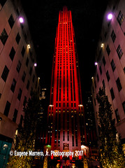 New York City (Themarrero) Tags: ferrari newyorkcity newyork nyc ny comcastbuilding rockefellercenter 30rockefellercenter 30rock ferrari70th ferrarired