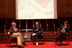 Pino Roveredo, Dario Franceschini, Massimo Cirri