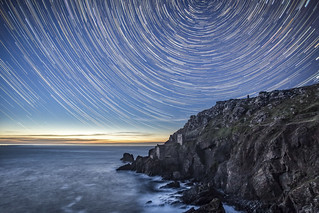Botallack Star Trails