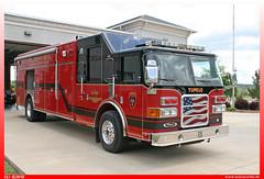 "Pierce Enforcer NE 1 RRT Mississippi ""Tupelo Fire Department"" (uslovig) Tags: pierce enforcer tupelo fire department ne 1 rrt regional response team mississippi ms usa truck station no number nummer 3 drei three"