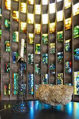 Cathedrals, Coventry 09/09/2017 (Gary S. Crutchley) Tags: st maichaels cathedral coventry baptistry baptisery window blitz raid uk great britain england united kingdom urban nikon d800 history heritage travel raw church of cofe anglican religion christianity faith worship ww2 world war 2 john piper