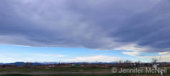 November 19, 2017 - A massive, beautiful wave cloud over the Front Range. (Jennifer McNeil)