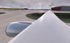 EDDP | Taxiing to the 483 position | VATSIM (danielrds) Tags: thrustmaster hotas joystick p3d prepar3d v4 p3dv4 prepar3dv4 pmdg b777 777 t7 vatsim vhhh hongkong bergamo eddp eddb alternate photo simulator online multiplayer fly sky sea boeing vista aérea aeronave avião céu