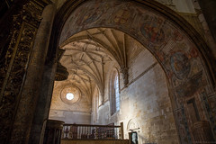 Convento do Cristo - Tomar (Fret Spider) Tags: monastery tomar alcobaca batalha portugal church cathedral medieval architecture europe pilar stone tile canonef24mmf14liiusm sonya7ii sonya7rii manuallens