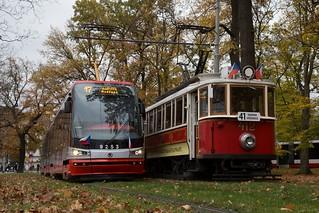 Oud en nieuw in Praag