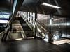 Subway Series IV - Spaceship (And Hei) Tags: subway düsseldorf ubahn urban urbanex spaceship hdr olympus olympusem10 olympus918 cold station bahnhof underground