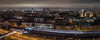 Panorama of the Night Moscow. (Oleg.A) Tags: square landscape russia megalopolis city outdoor panorama evening town blue colorful building orange night cityscape autumn sky skyscape street winter architecture moscow landscapes outdoors москва moskva ru