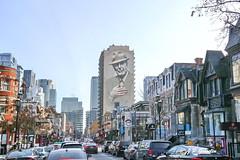 LEONARD COHEN  |  MURAL TRIBUTE  | ARTIST  GENE PENDON  | AKA GENE STARSHIP  |   |  DOWNTOWN |  MONTREAL  |  QUEBEC  |  CANADA    | 2017 (J P Gosselin) Tags: leonard cohen | mural tribute artist gene pendon aka starship downtown montreal quebec canada 2017 canon7dmarkii canon 7dmarkii 7d markii mark ii canoneosrebelt2i canoneos7d canon7d eos7d canoneos eos rebel t2i ph:camera=canon 11 000sqftmuralcommemoratingleonardcohen crescentst downtownmontreal qc montréal québec flickr