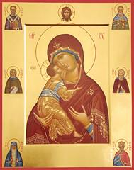 Владимировская икона Божией Матери