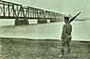 Guarding the Long Bridge in Washington DC - 1917 (SSAVE w/ over 9 MILLION views THX) Tags: nationalguard worldwari thegreatwar unfit homeguard 1917 1918 ww1