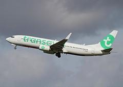 IMG_7458 HDR (jeanpierredewam) Tags: fgzhe boeing 7378k2 msn29678 transavia
