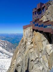 At the Aiguille du Midi, 3777 m.  Chamonix. (elsa11) Tags: chamonix aiguilledumidi montblancmassif montblanc alps alpen hautesavoie rhonealps mountains france frankrijk