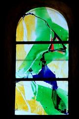 Vitrail du  Père Kim En Joong à Montceaux-l'Etoile (71) (odile.cognard.guinot) Tags: vitrail pèrekimenjoong montceauxletoile brionnais saôneetloire bourgogne bourgognefranchecomté églisesaintpierreetsaintpaul