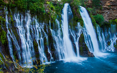 Burney Falls (ValeTer_) Tags: nikond5000 burneyfalls california usa falls water nature