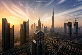 Sunrise @ Dubai
