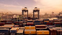 Casablanca (floerioHH) Tags: craneconstructionmachinery cruise 2017 casablanca travel commercialdock city freighttransportation industry cranes harbour container kreuzfahrt