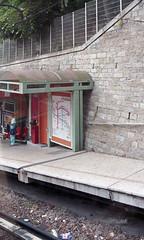 Funicular, Lyon, 26 May 1998 (Ian D Nolan) Tags: epsonperfectionv750scanner 35mm lyon funicular france
