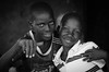 2 Friends (gunnisal) Tags: africa portrait friends blackandwhite monochrome bw face smile eyes gunnisal