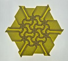 Diamond Star 3 (mganans) Tags: origami tessellation