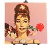 Audrey (Frost Bricks) Tags: udrey hepburn lego mosaic art legoart