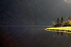 Stille vann - - Quiet lake (erlingsi) Tags: no movatn sunnfjord norway serenity light luz lys
