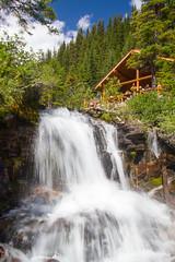 Lake Agnes Tea House (thuygiaho) Tags: lake agnes banff national park tea house waterfall louise
