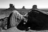 USA Holiday | Monument Valley | Epic Viewpoint [Explored] (James_Beard) Tags: fuji fujixt2 holiday usa arizona monumentvalley buttes westmitten eastmitten taylorrock rocks naturalrockformation blackwhite anseladams ilikebigbuttes