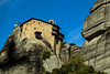 Meteora (CaptSpaulding) Tags: greece meteoramonasteries meteora old religious red monasteries byzantine monks hills mountains sky canon color contrast clouds closeup church building grass