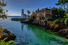 Emerald Green Waters..... (kanaristm) Tags: cascais portugal europe green blue aqua