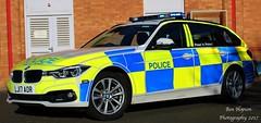 LJ17 AOR (Ben Hopson) Tags: northumbria police bmw 330d 3series xdrive estate touring anpr traffic supervision supervisor car roads policing unit rpu motor patrols 999 emergency vehicle lj17aor blue lights new