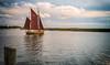 Ostsee  (8) (berndtolksdorf1) Tags: deutschland mecklenburgvorpommern ostsee zingst zeesboot wasser himmel segelboot