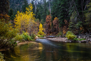 Yosemite Daylight Long Exposure Composite