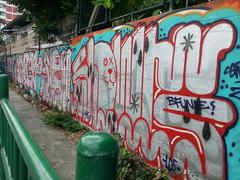 Bangkok (Thomas_Chrome) Tags: bangkok thailand southeast asia graffiti streetart street art spray can wall walls illegal bombing throwup