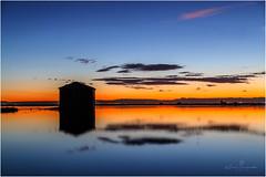 Atardecer sobre los arrozales (José Ferrando) Tags: albufera arrozales carmenpla elperelló marjal sueca atardecer canon24105l canon6d nubes reflejos