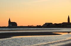 Caorle, tramonto (stgio) Tags: caorle veneto tramonto paesaggio mare inverno rosa arancio landscape colori fall seaside italy