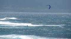 kiteboarding - Maui, Hawaii (Jac Hardyy) Tags: kiteboarding maui hawaii hawai kiting surfer surfing blue sail wave waves pacific pazifik wind water ocean ozean sport kitesurfen kiteboarden welle wellen gischt segel blau alone