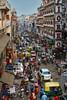 Traffic in Main Bazar, Paharganj, New Delhi, India (Alex_Saurel) Tags: transportation lampadaire asie architecture 35mmprint people scans lamp barrat scooters indoustan motos hindustan working inde seller fenêtres voitures panneaux touristes tourists work étales embouteillage india windows trafique polution sellers autorickshaws vendeurs trafficjam dome backpackers panels asia hotel cyclerickshaw streetscene piétons pedestrians travel lifescene street imagetype reportage photospecs photoreport rue photoreportage newdelhi stockcategories photojournalism tuktuk market day vendor delhi merchant time balcon balcony cars scènedevie marché building sony50mmf14sal50f14 tatacar