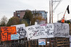 Olympia Railroad Blockade (Ricky Osborne) Tags: climate photojournalism streetphotography trains railroad rail climatechange justice action environmental protest activism olympia washington pnw oil oilspill portofolympia fracking cleanenergy solidarity waterislife