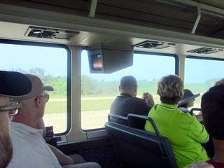 Interior of Bus Tour