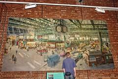 Waterloo Station (1967). (Tony Baldwinson) Tags: waterloostation1967 painting uk york nationalrailwaymuseum