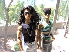 Shades of Fusion (~EverFashionista216~) Tags: integrity toys supermodel convention ollie lawson color infusion fashion royalty 2016 raven hair dolls native american ace mcfly style lab homme male ci fr
