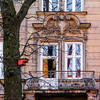 HWW in Cracow, Poland (Janos Kertesz) Tags: architecture building house old window home wall facade balcony exterior stone europe urban city polen polska poland cracow krakau kraków