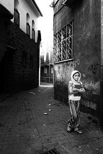 A little kurdish girl and her Koran