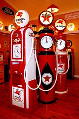 Antique Gas Pumps (redhorse5.0) Tags: oldgaspumps servicestationgaspumps antiqueservicestationequipment advertising globes redhorse50 sonya850