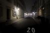 20 (Novowyr (dead slow)) Tags: basel switzerland city street fog 20 ad gross empty winter december advent lights night loneliness nacht strase plakat nebel leere vorweihnachtszeit beleuchtung brouillard dunkel stadt brume dezember einsam