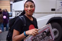Non una di meno (La Robbi) Tags: ritratto donna woman diritti trucco makeup manifestazione corteo nonunadimeno femminismo