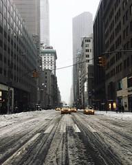 5th Snowstorm (Airicsson) Tags: street urban cold snow snowstorm avenue 5th manhattan cityscape winter nyc new york skyline midtown