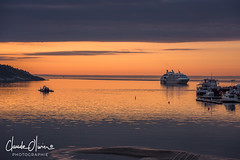Tadoussac, le matin (Claude-Olivier Marti) Tags: tadoussac québec canada amériquedunord leverdesoleil sunrise horizon saintlaurent leponant leboreal croisière