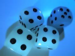 several cubes (christikren) Tags: macromondays gamesorgamepieces cubes points dots macro würfel spielwürfel game spiel hmm fun